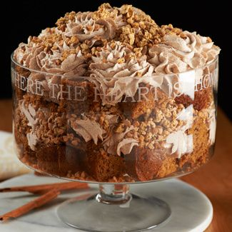 Pumpkin Toffee Crunch Trifle