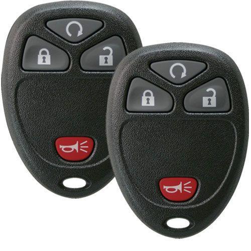2 Keyless Entry Remote Key Fobs For Gm Chevrolet Gmc 15913421