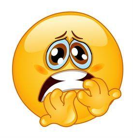 El Encanto De Las Cosas Sencillas El Miedo Uy Que Miedo Caras Emoji Emoticones Emoji Simbolos Emoji