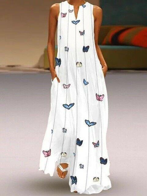 Top Bohomian Boho Langes Maxikleid Strand Sommer Kleid Abendkleid S 5xl Bc739 Blaue Kleid Ideen Von Blaue Kleid Blau In 2020 Sommerkleidung Damen Mode Etuikleid