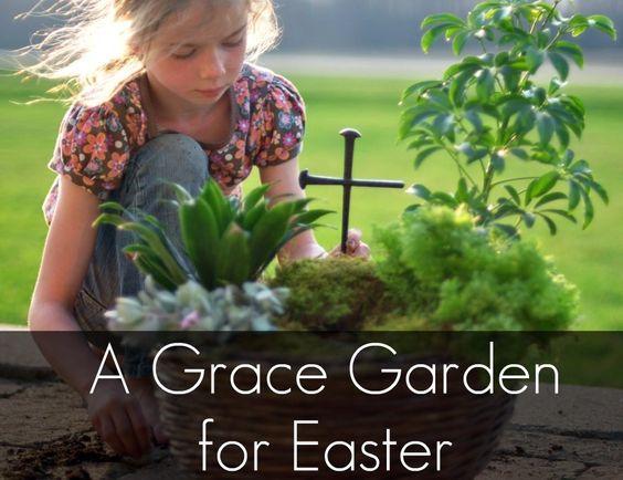 Grace garden for Easter.