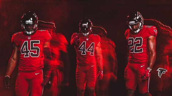 Pin By Shanita Shivers On Football Atlanta Falcons Color Rush Atlanta