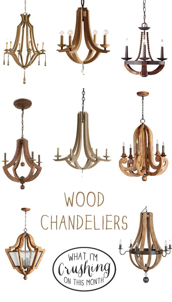 Wood Chandeliers Let There Be Light Pinterest Diy Wood Rustic And Master Bedroom Chandelier