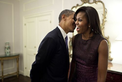 POTUS and FLOTUS. fairly swoonworthy