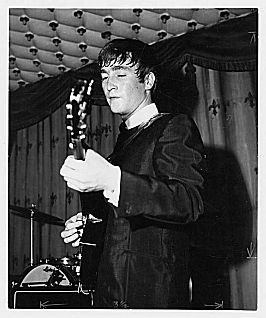 2nd August 1963. The Beatles perform at the Grafton Rooms, Liverpool.