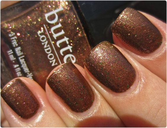 Butter London Scuppered swatch (sunlight)