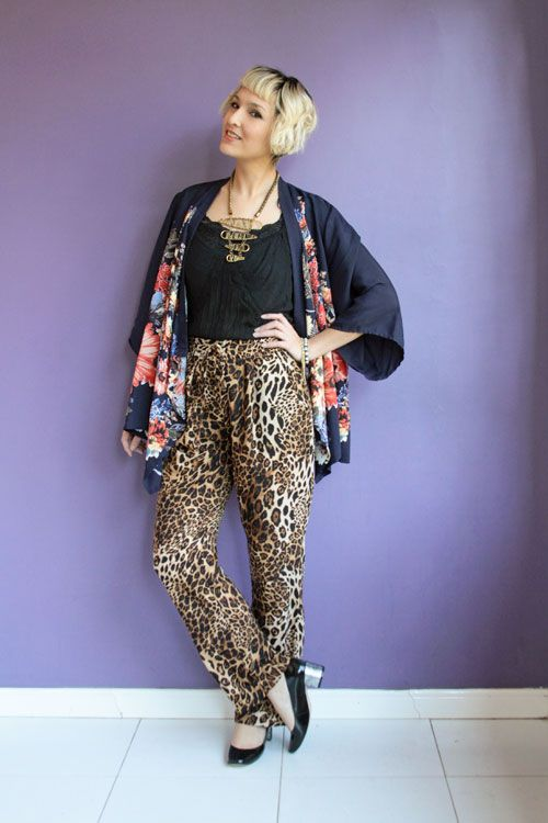 Look do dia: quimono e calça de oncinha - Blog De repente Tamy | Moda, beleza e look do dia todos os dias! | www.derepentetamy.com Blog De repente Tamy | Moda, beleza e look do dia todos os dias! | www.derepentetamy.com