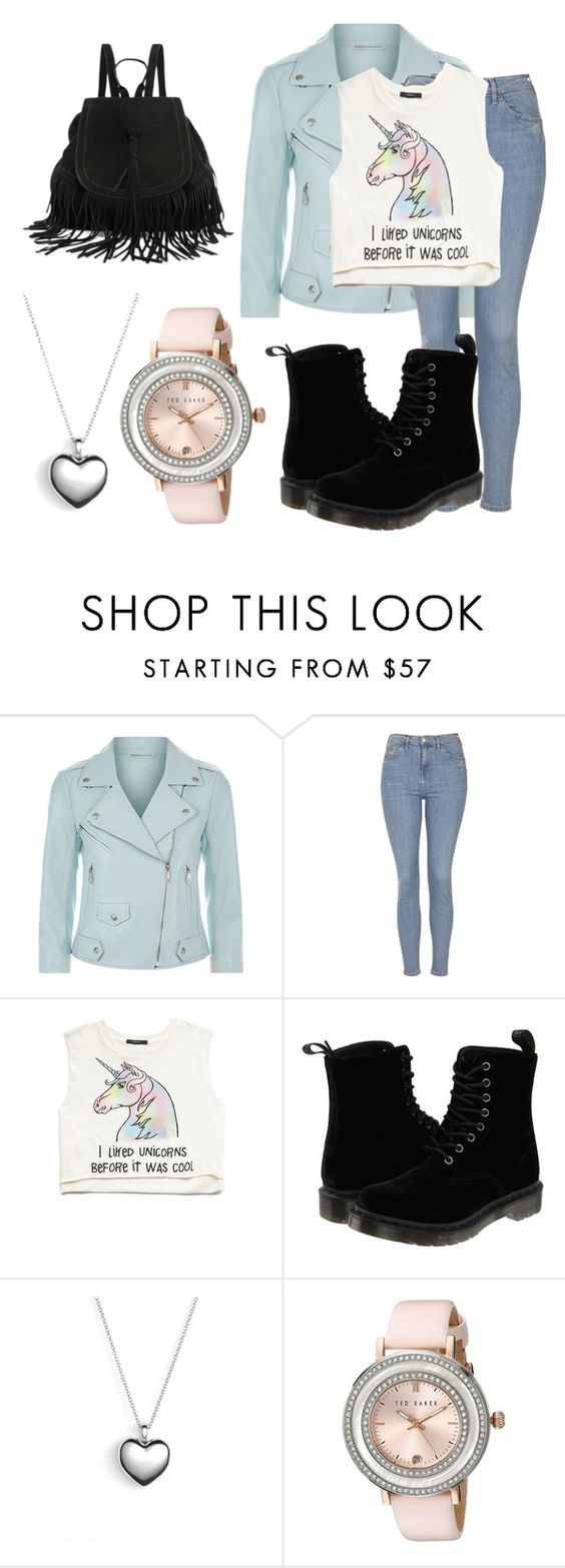 """""""Untitled #40"""" by style-angel123 ❤ liked on Polyvore featuring beauty, Rebecca Minkoff, Topshop, Forever 21, Dr. Martens, Pandora and Ted Baker"""
