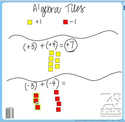 "Students watch ""Addition of Integers with Like Signs"" from AplusAlgebra to learn how to add integers of like signs in a conceptual way. #Math #STEM #ccss 7.NS.A.1"