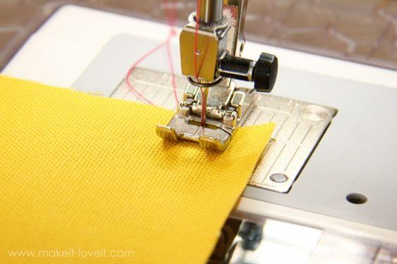 sew! Basic skills.
