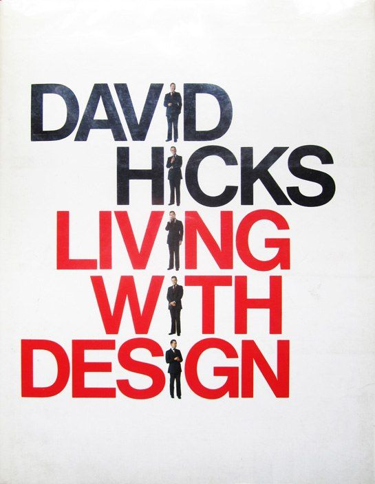 """""""Living with Design"""" by David Hicks. One of our 6 design books that stand the test of time."""