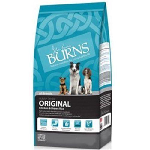 Burns Original Chicken Brown Rice Dog Food 2kg Dogfood Pets