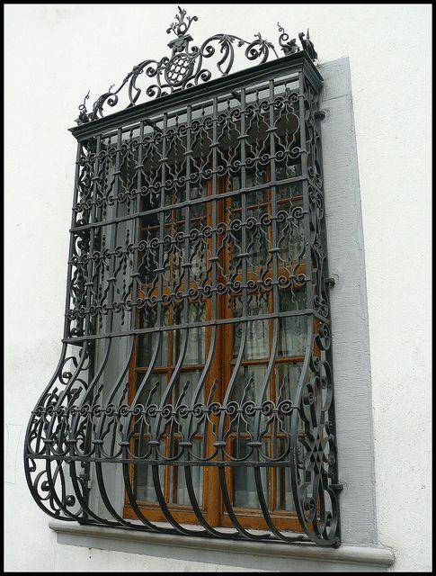 Wrought Iron Window Windows Doors Security Bar