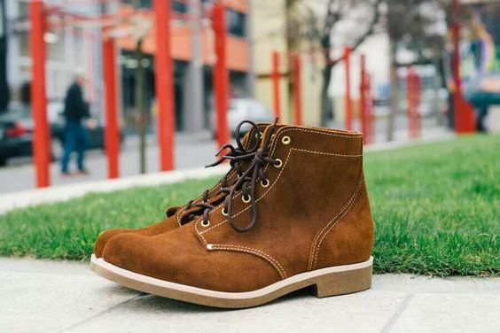 Last & Loom suede boots