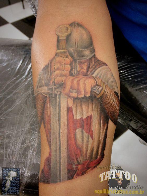Cavaleiro templario em progresso by Cesar Hencklein