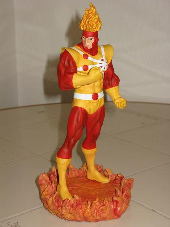 The Fury of Firestorm - Statue