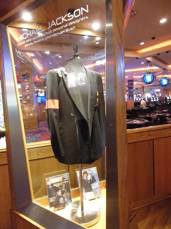 Michael Jackson at the Hard Rock Hotel in Las Vegas!
