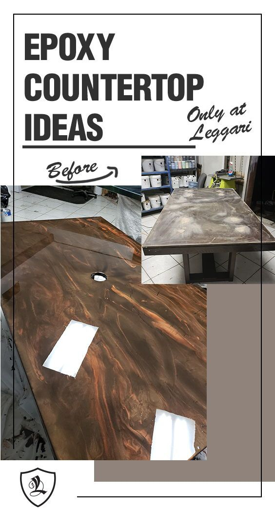Diy Metallic Epoxy Countertop Kits Are Available The Best Epoxy