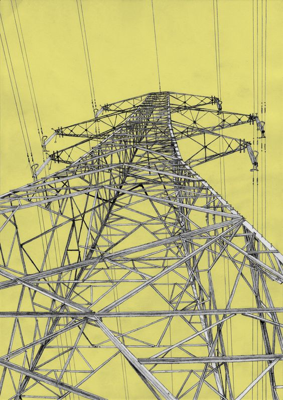 Keith Watts - yellow pylon