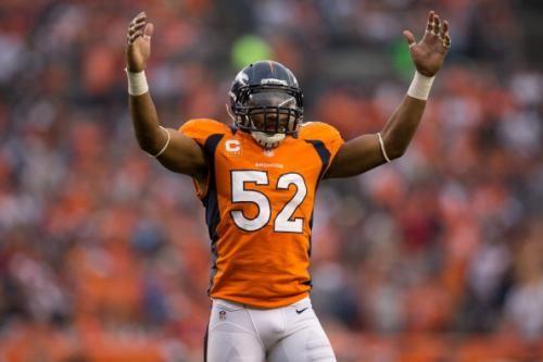 Wesley Woodyard of the Denver Broncos