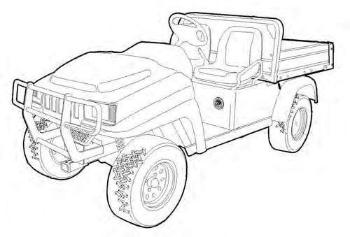 2200 Utility Vehicle Service Repair Manual Download Service Manuals Club In 2020 Repair Manuals Utility Vehicles Repair