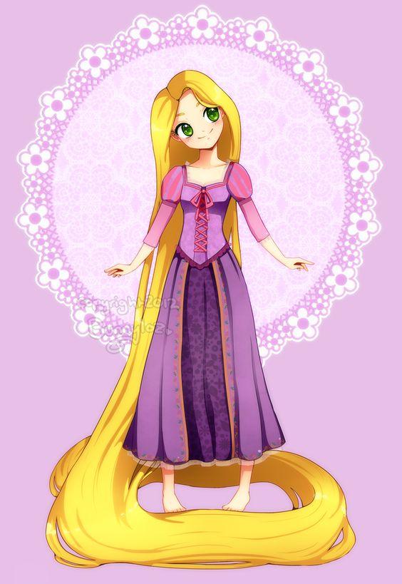 Prize: Rapunzel by Bunnyloz on deviantART