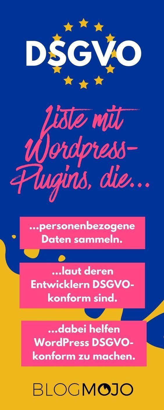 240 Wordpress Plugins Im Dsgvo Check Mit Losungen Alternativen Und Plugin Tipps Alternativen Dsgvocheck Im Losun Dsgvo Wordpress Blog Geld Verdienen