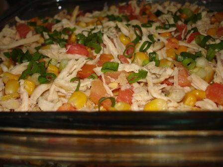 Salada de Milho Verde e Frango - com sabor do campo