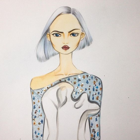 Playing with my favorite fashion house:) #fashion #fashionillustration #fashionillustrator #illustration #fashionart #style #art #drawing #artist #instaart #instaartist #karenwolf #karenushka #karenwolfillustrations #inspiration  #s2016ctr #spring #2016 #couture #hautecouture #christiandior #diorcouture #dior