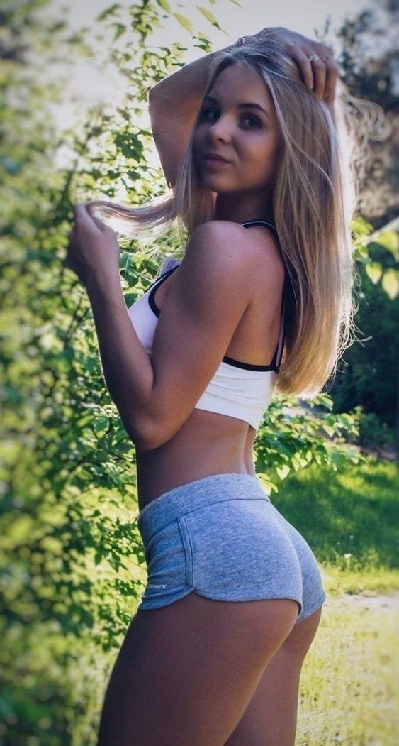 Sexy White Girl Thick Ass