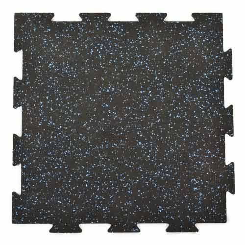 Survivor Recycled Rubber Tile Interlocking 2x2ft X 3 8in Biggie Smallz In 2020 Gym Flooring Tiles Rubber Floor Tiles Gym Flooring