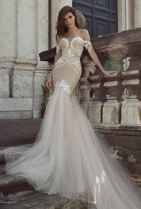 Awesome Beige Wedding Dresses Contemporary - Styles & Ideas 2018 ...