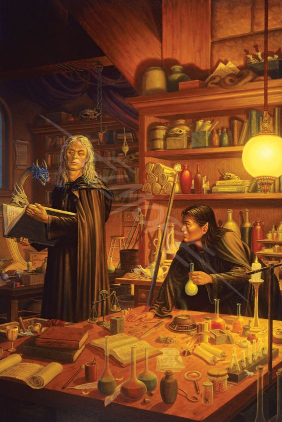 The First Ingredient - art by Larry Elmore