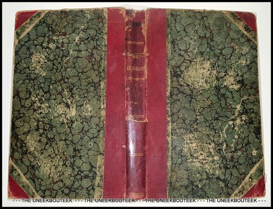 Antique Litchfield County Ct 1851 Centennial Celebration Book -Published by Edwin Hunt - Hartford CT - 1851 at TheUneekBouteek