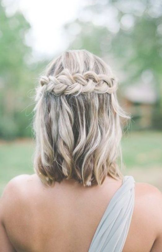 15 Stylish Wedding Hairstyles For Short Hair Medium Length Hair Styles Bridesmaid Hair Medium Length Medium Hair Styles