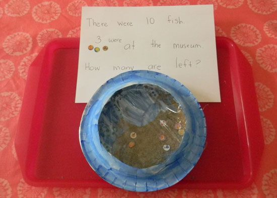 Book activity ten little fish from read set read for Ten little fish