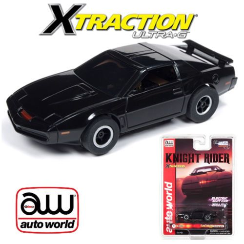 Auto World Xtraction R25 Knight Rider 1:64 HO Slot Car K.I.T.T