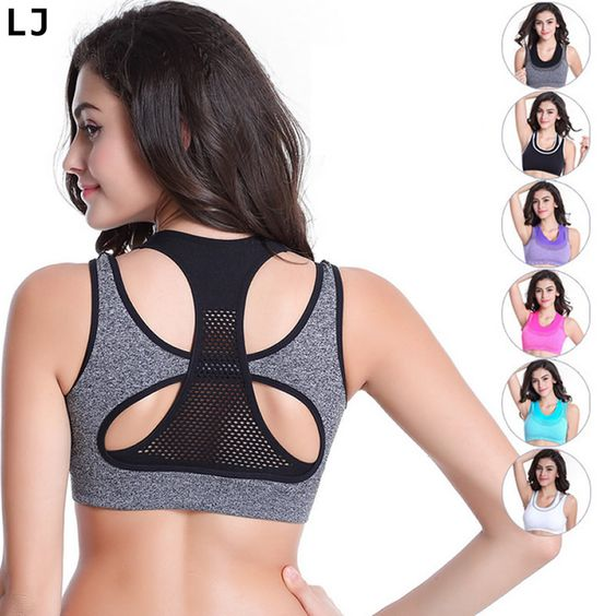 Cheap bra tshirt, Buy Quality bra perfect directly from China bra bras Suppliers:              Women Fitness Sports Workout Gym Yoga Bra Cropped Jogging Seamless Vest Tank