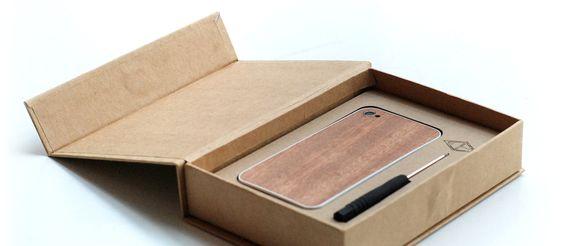 Mahagoni | iPhone Rückseiten aus Holz | FSC-zertifiziert | Eden – back to nature…