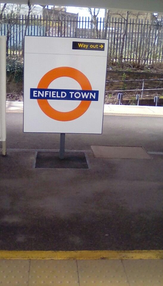 I'm at Enfield Town Railway Station (ENF)!