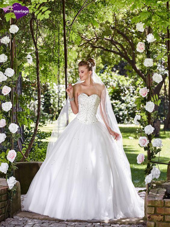 Robe de mariée Montségur, robe de mariée féerique, robe de mariage princesse sur…