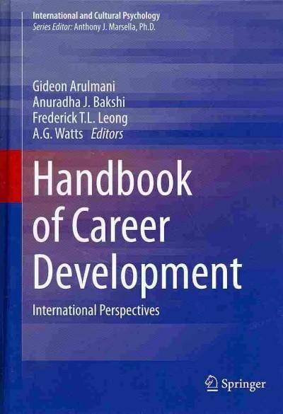 Handbook of Career Development: International Perspectives