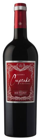Cupcake Red Velvet-This wine is very versatile and pairs nicely with a BLT, chili, or chocolate cake.#cupcake red velvet #yyc #calgary wine