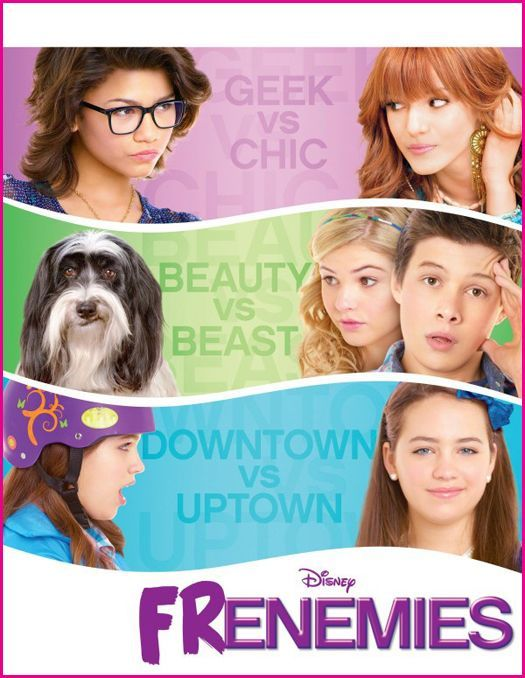 Frenemies (2 stars) A Disney Channel TV movie starring some young ladies who are very talented: Bella Thorne, Zendaya Coleman, and Stefanie Scott. Unfortunately, they don't really get to showcase those talents in this cliche'-ridden vehicle featuring short stories putting them into situations that test friendships. Nothing original or endearing here. Ho-hum.