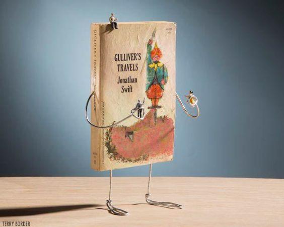 Libros que cobran vida con alambre y humor