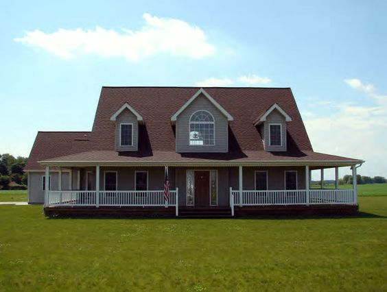 Home i want and old houses on pinterest for House with wrap around porch for sale