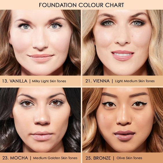 Pin By Danielle On Make Up Foundation Shades Light Medium Skin Tone Light Skin Tone
