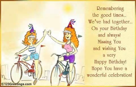 Birthday Quotes For Girlfriend Perfect Birthday Cakes – Old Friend Birthday Card