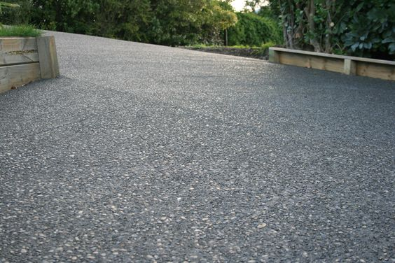 Exposed aggregate exposed aggregate driveway and concrete for Exposed concrete floor