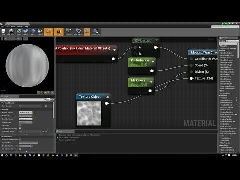 Unreal Engine 4 Water Caustics Faking Light On The Bottom